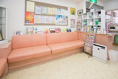 八王子の歯医者「小松歯科医院」の待合室