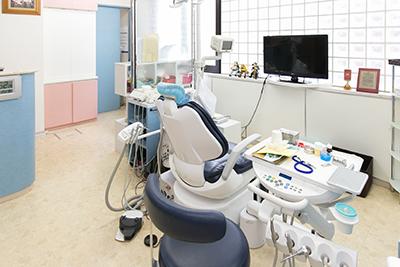 八王子の歯医者「小松歯科医院」の診察室